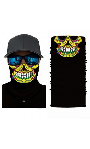 Multifunktionstuch [Mexican Skull, One Size]