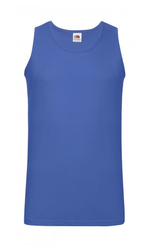 ATHLETIC VEST, Fotl, Tank-Top   [ROYAL, XXL]