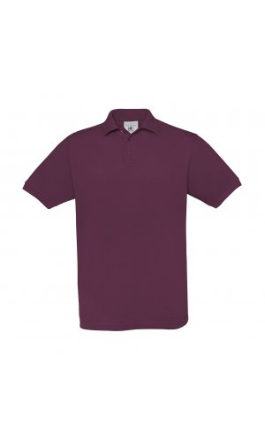 Polo Safran / Unisex [Burgundy, XL]