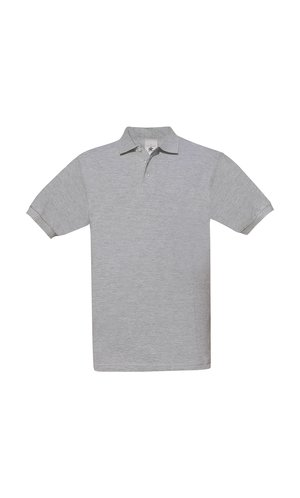 Polo Safran / Unisex [Heather Grey, XL]