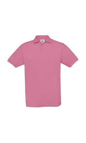 Polo Safran / Unisex [Pixel Pink, S]