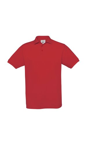 Polo Safran / Unisex [Red, M]