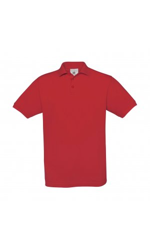 Polo Safran / Unisex [Red, 2XL]