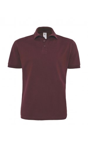 Polo Heavymill / Unisex [Burgundy, S]