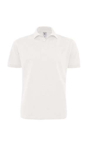 Polo Heavymill / Unisex [White, S]