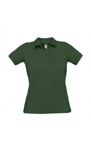 Polo Safran Pure / Women [Bottle Green, S]