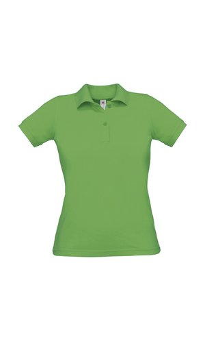 Polo Safran Pure / Women [Real Green, XL]