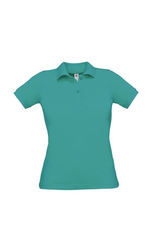 Polo Safran Pure / Women [Real Turquoise, XS]