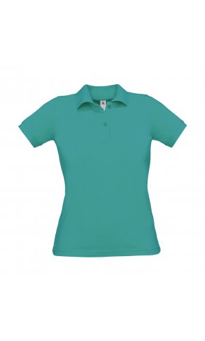 Polo Safran Pure / Women [Real Turquoise, S]