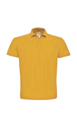 Polo ID.001 / Unisex [Chili Gold, M]