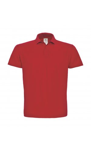 Polo ID.001 / Unisex [Red, 3XL]