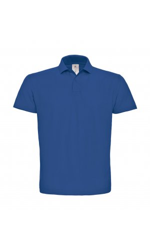 Polo ID.001 / Unisex [Royal Blue, S]