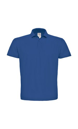 Polo ID.001 / Unisex [Royal Blue, XL]