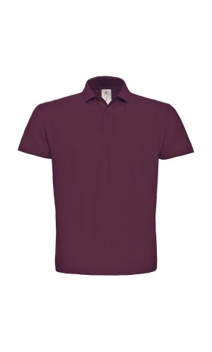 Polo ID.001 / Unisex [Wine, 4XL]