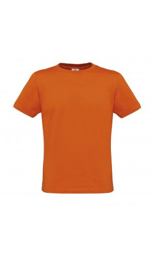 T-Shirt Men-Only [Pumpkin Orange, 2XL]