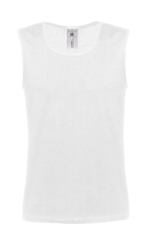 Vest Athletic Move [White, 2XL]
